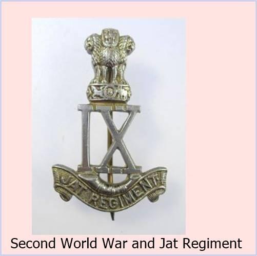 Second World War and Jats