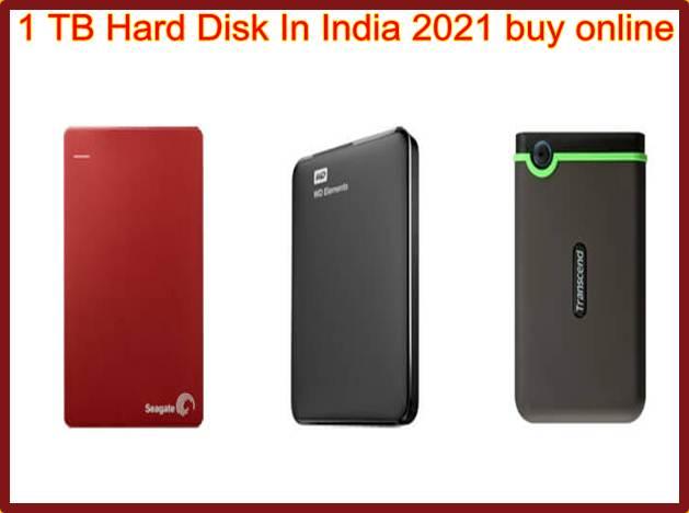 1 TB Hard Disk