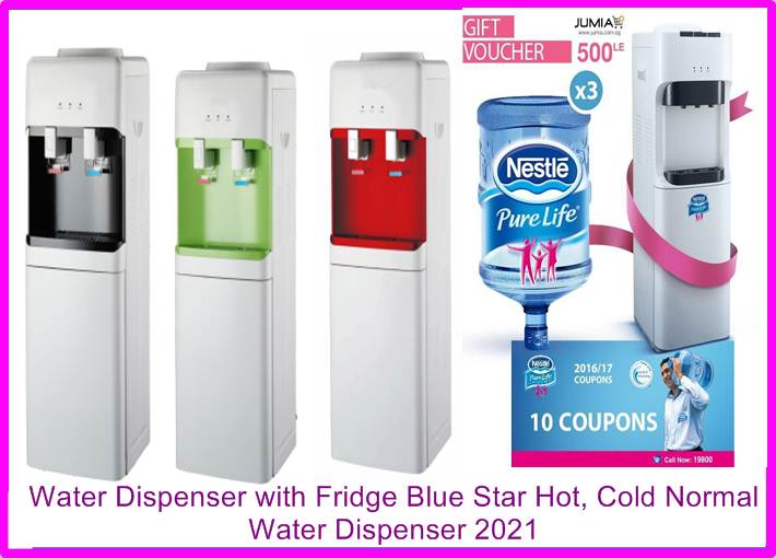 Water Dispenser with Fridge